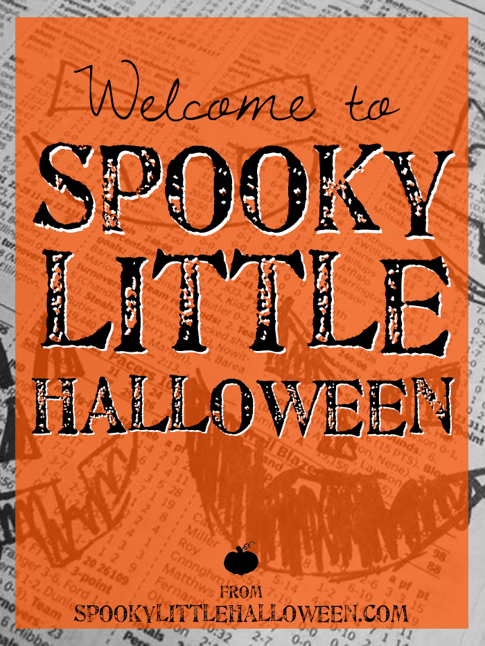 Welcome to Spooky Little Halloween - a Halloween blog celebrating the magic of October 31st all year long | spookylittlehalloween.com