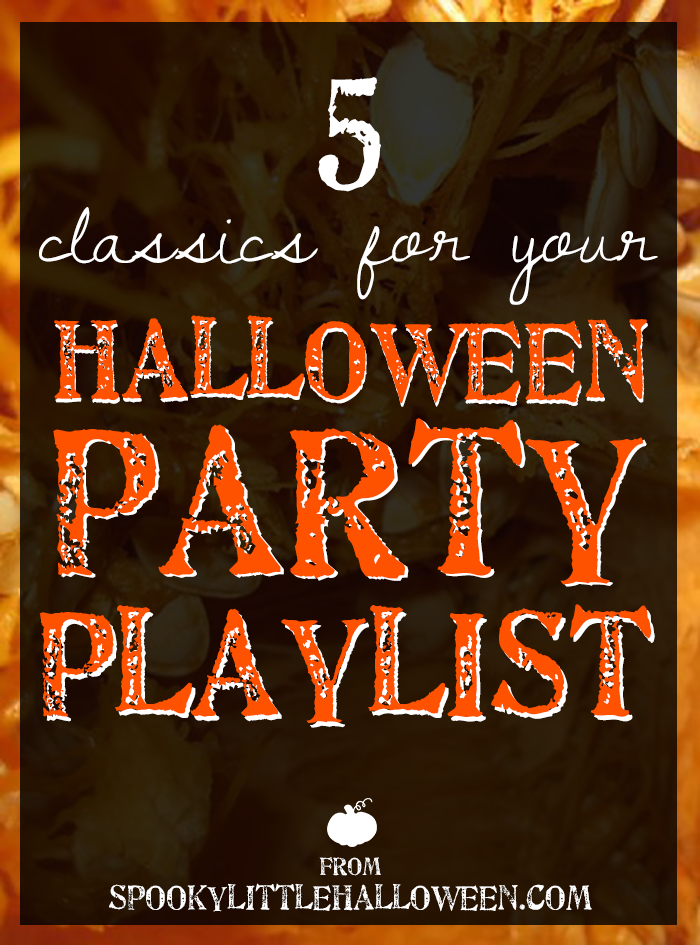 Want to create the ultimate Halloween playlist? Here are 5 classics every playlist should include! | spookylittlehalloween.com