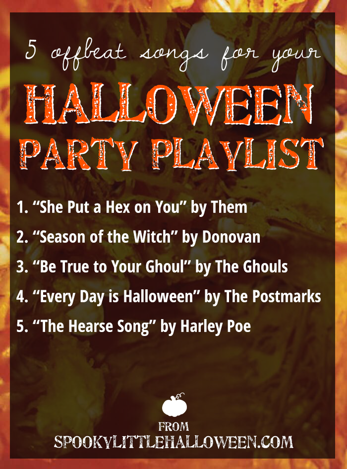 5 offbeat songs for your Halloween party playlist - Spooky Little ...