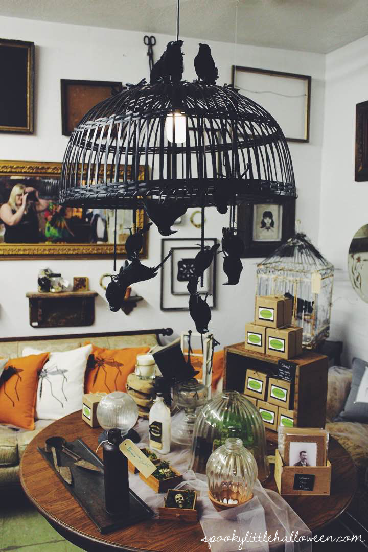 House of the Spirits Halloween Pop-up Shop in Houston, Texas - spooky decor and inspiration for your 2015 Halloween decor | spookylittlehalloween.com