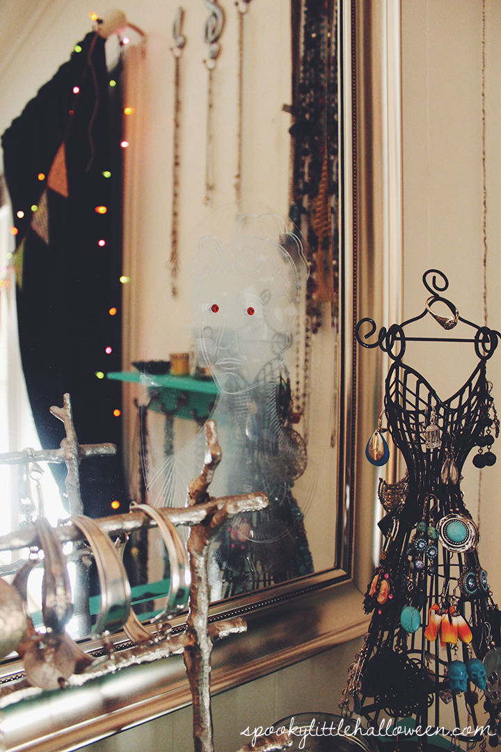A Halloween Home Tour: Take A Peek Inside My Bedroom To See How I Decorate
