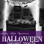 Spooky Little Apartment Halloween Home Tour: Bedroom