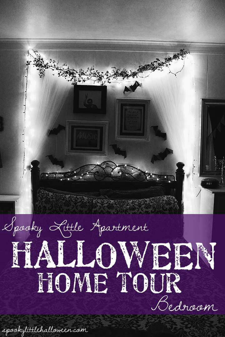 A Halloween home tour: take a peek inside my bedroom to see how I decorate for October 31 | spookylittlehalloween.com