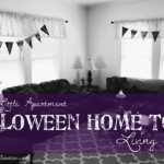 Spooky Little Apartment Halloween Home Tour: Living Room