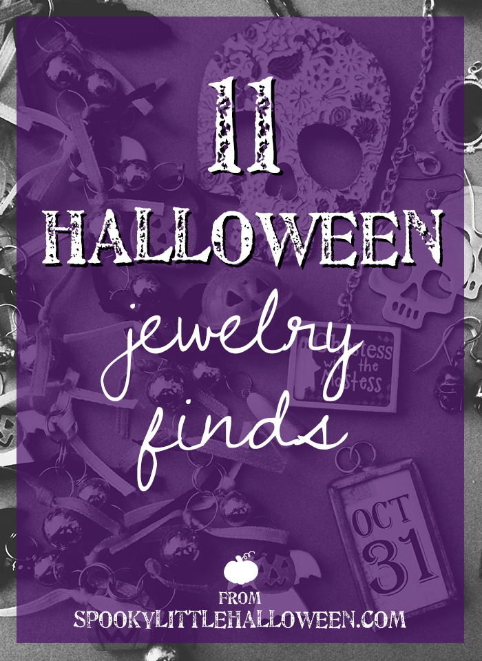 11 Halloween jewelry finds: 11 Halloween jewelry finds perfect for making every day feel like Halloween. | spookylittlehalloween.com