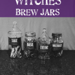 #DIY Halloween Project: Witches Brew Jars