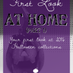 First Look: At Home Halloween 2016