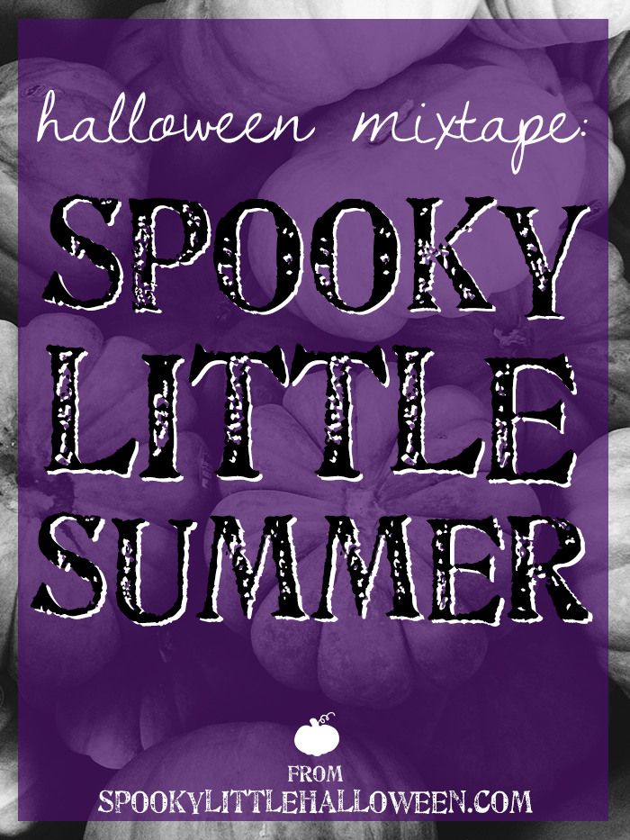 Halloween Mixtape: Spooky Little Summer - Here's a Halloween mixtape for fans of oldies, 60s garage rock and surf rock. This mix will get you in the mood for October 31 with a little summer flair. | spookylittlehalloween.com