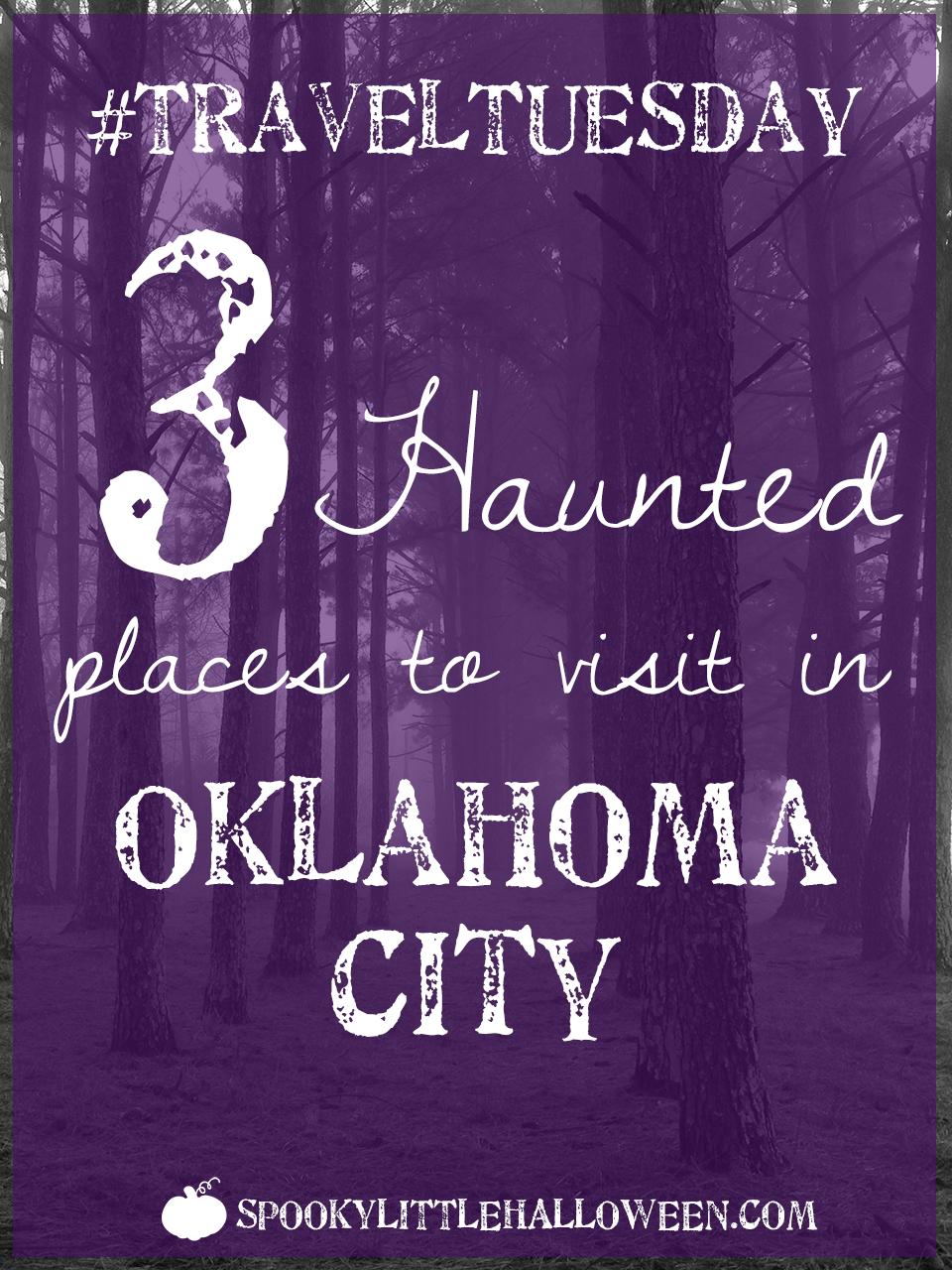 #TravelTuesday: 3 haunted places to visit in Oklahoma City - My haunted travel series continues this #TravelTuesday with a trip to the heartland - Oklahoma City! Here's three haunted places to visit. | spookylittlehalloween.com