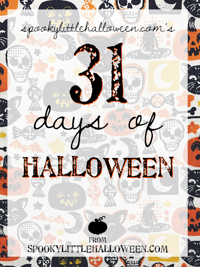 SpookyLittleHalloween.com's 31 days of Halloween: Celebrate Halloween all October long with SpookyLittleHalloween.com's 31 Days of Halloween! Read this post to find out how to sign up for all the fun. | spookylittlehalloween.com