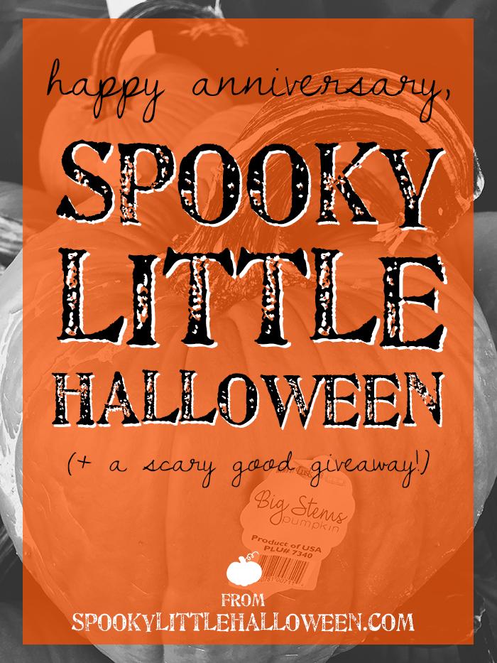 Happy Anniversary Spooky Little Halloween Spooky