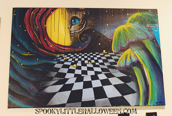 """Crazy Reality: A Virtual Tour of a Tim Burton Art Show - Take a virtual tour of """"Crazy Reality"""", a Tim Burton tribute art show at East End Studio Gallery in Houston, from Nightmare to Alice & everything in between. 
