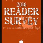 Spooky Little Halloween 2016 Reader Survey