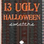13 Ugly Halloween Sweaters