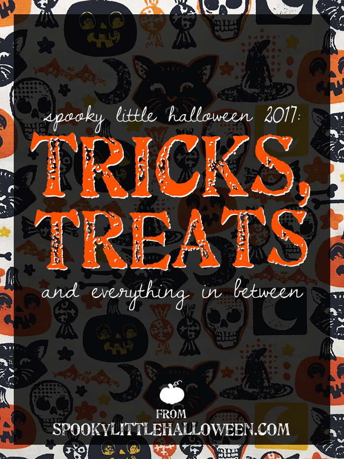 Spooky Little Halloween 2017: Tricks, Treats and Everything in Between - Welcome to Spooky Little Halloween! From DIY projects and recipes to your requests, here's a sneak peek at everything brewing for 2017. | spookylittlehalloween.com