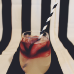 "Spooky Little Cocktail: Beetlejuice Margarita - A margarita recipe so good, it'll make you yell, ""Beetlejuice, Beetlejuice, Beetleju-"" - well, you know. We're not trying to summon bio-exorcists here... 