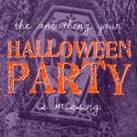 The ONE thing your Halloween party is missing