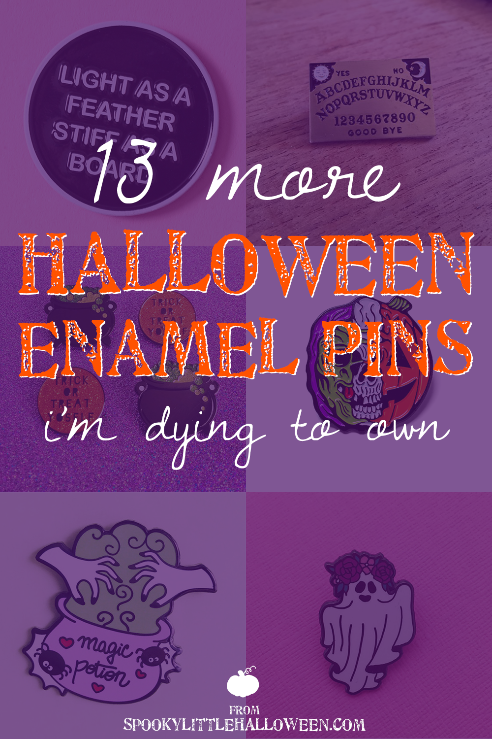 13 More Halloween Enamel Pins I M Dying To Own Spooky