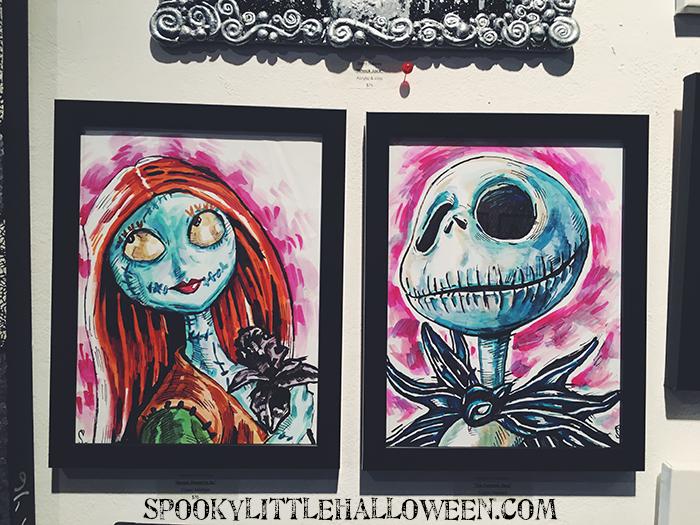 Nightmare Before Christmas Artwork - Spooky Little Halloween