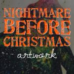 Nightmare Before Christmas Artwork