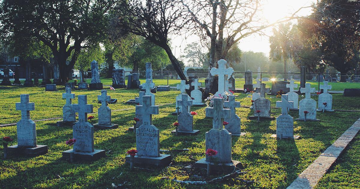 A Photo Tour Of Catholic Cemetery No 1 Victoria Texas