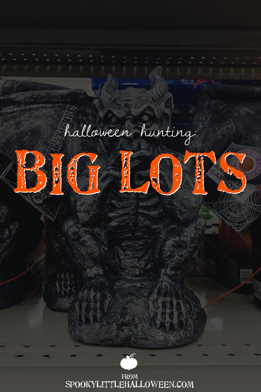 halloween hunting big lots - Halloween Hunting