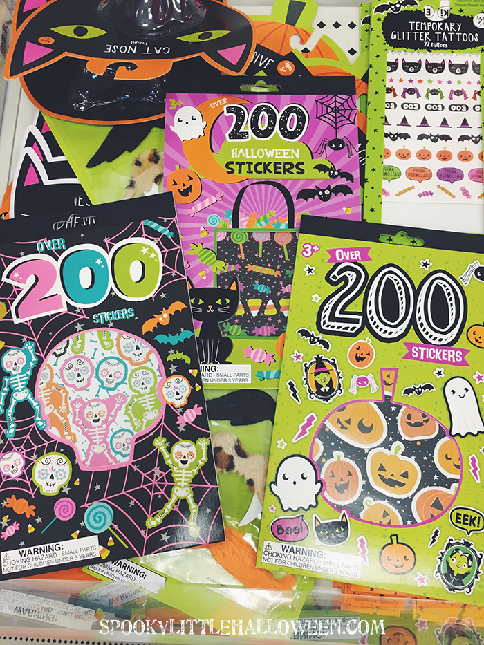 Cheap – and cute – Halloween stickers are one of my weaknesses.