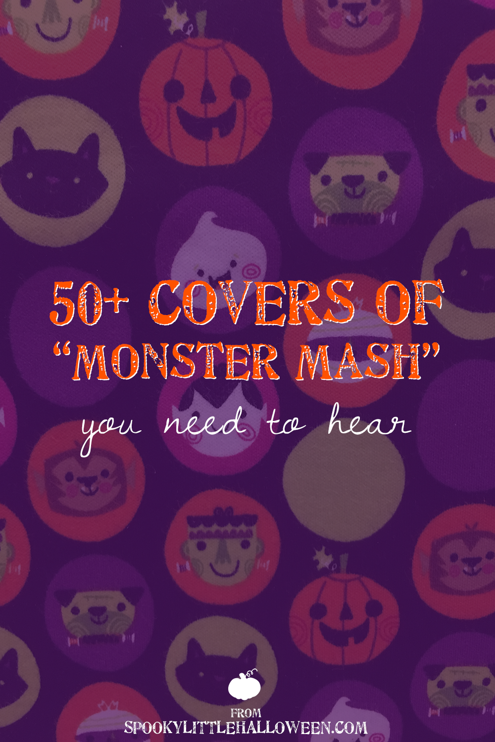"Ever wondered what it's like inside the brain of a Halloween blogger? This is the post where you find out as we listen to ""Monster Mash"" on repeat."