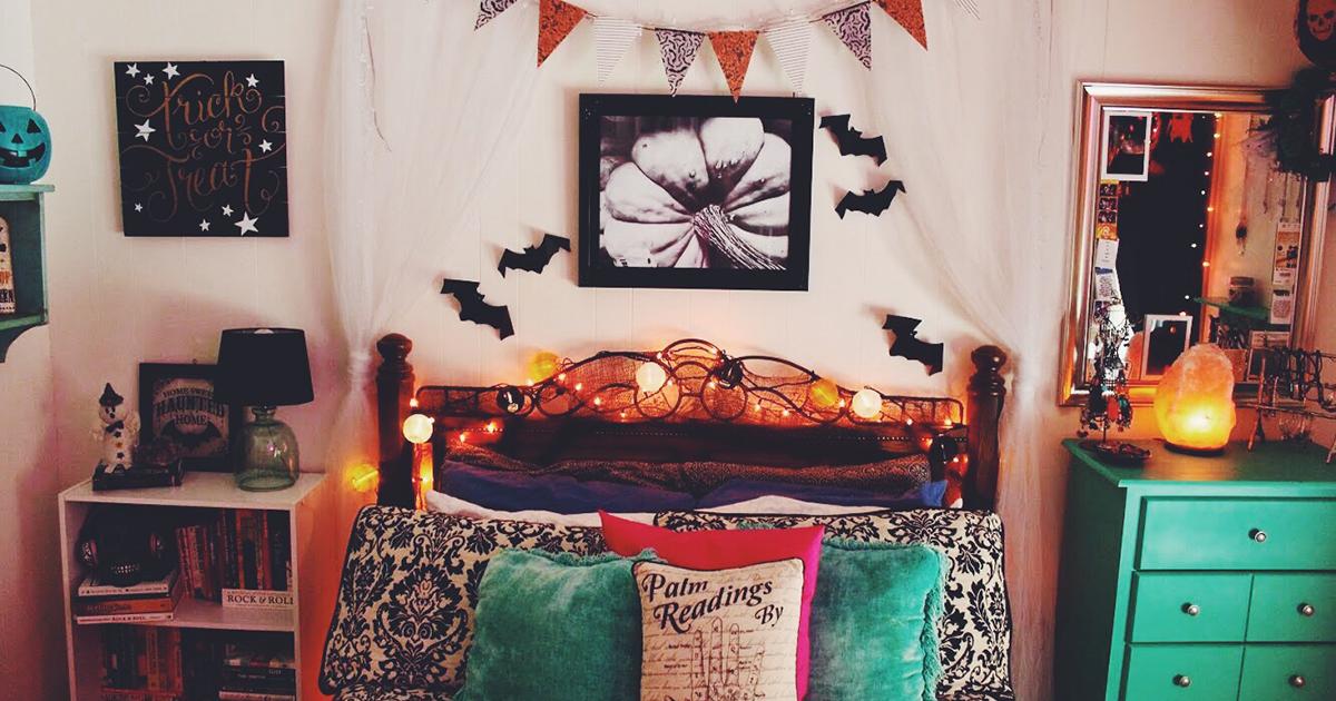 halloween  home   bedroom spooky  halloween