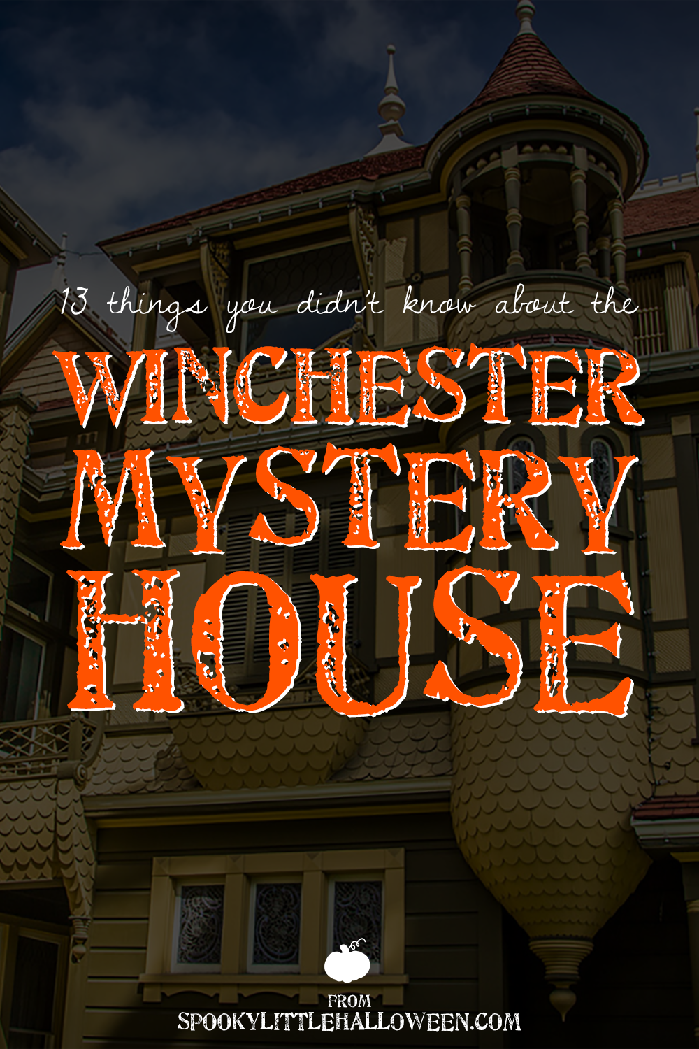 13 things you didn't know about the winchester mystery house