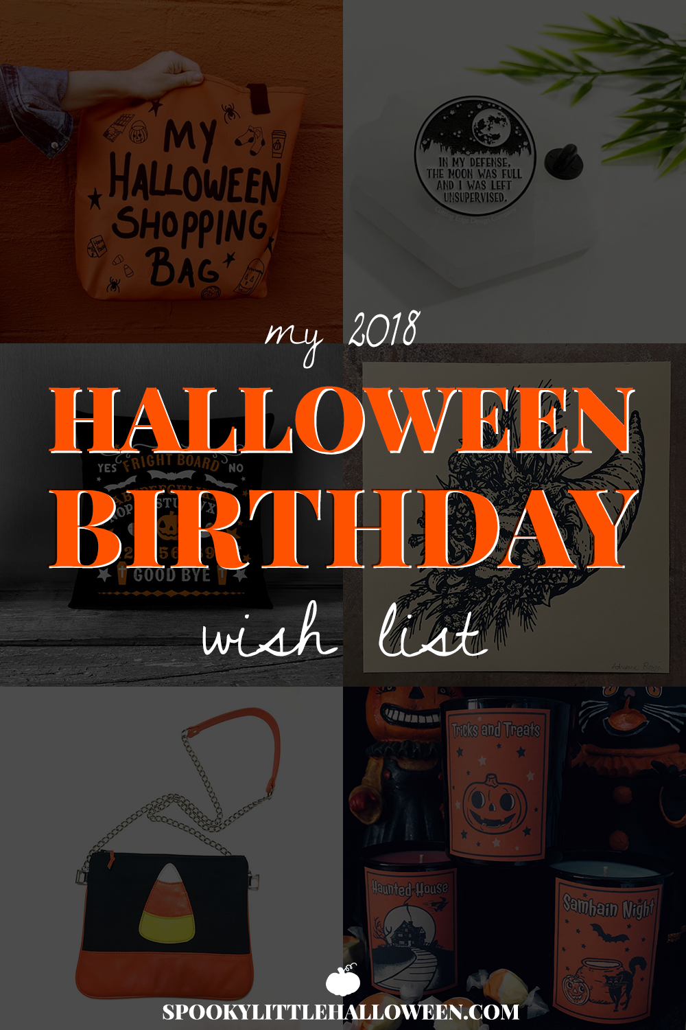 my 2018 halloween birthday wish list spooky little halloween