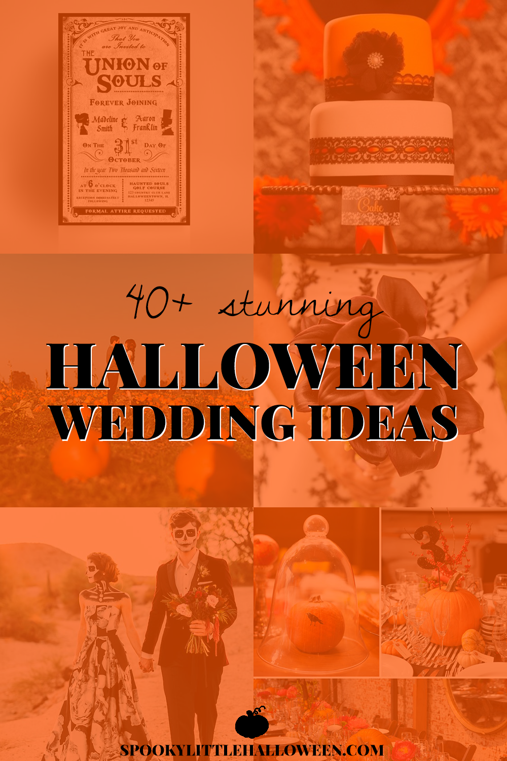 40 stunning halloween wedding ideas spooky little halloween planning a halloween wedding to the rest of the world june might be wedding season but for us halloween loverss just another excuse to celebrate junglespirit Choice Image
