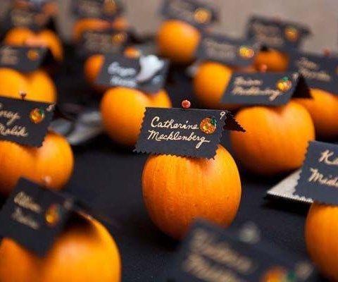 halloween wedding receptions