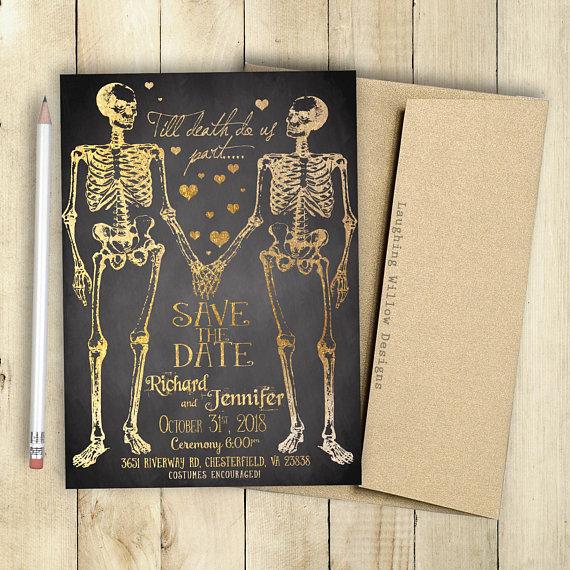 40 Stunning Halloween Wedding Ideas Spooky Little Halloween