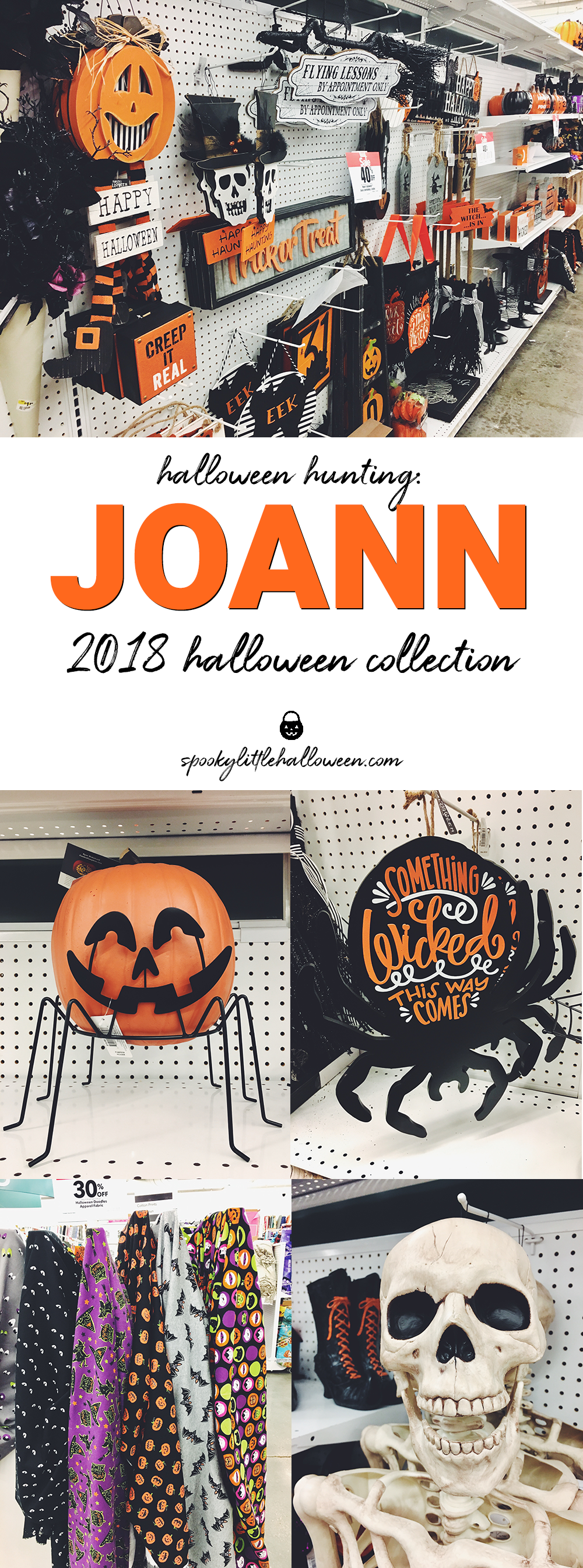 Halloween Hunting: Joann 2018 Halloween Collection - Spooky