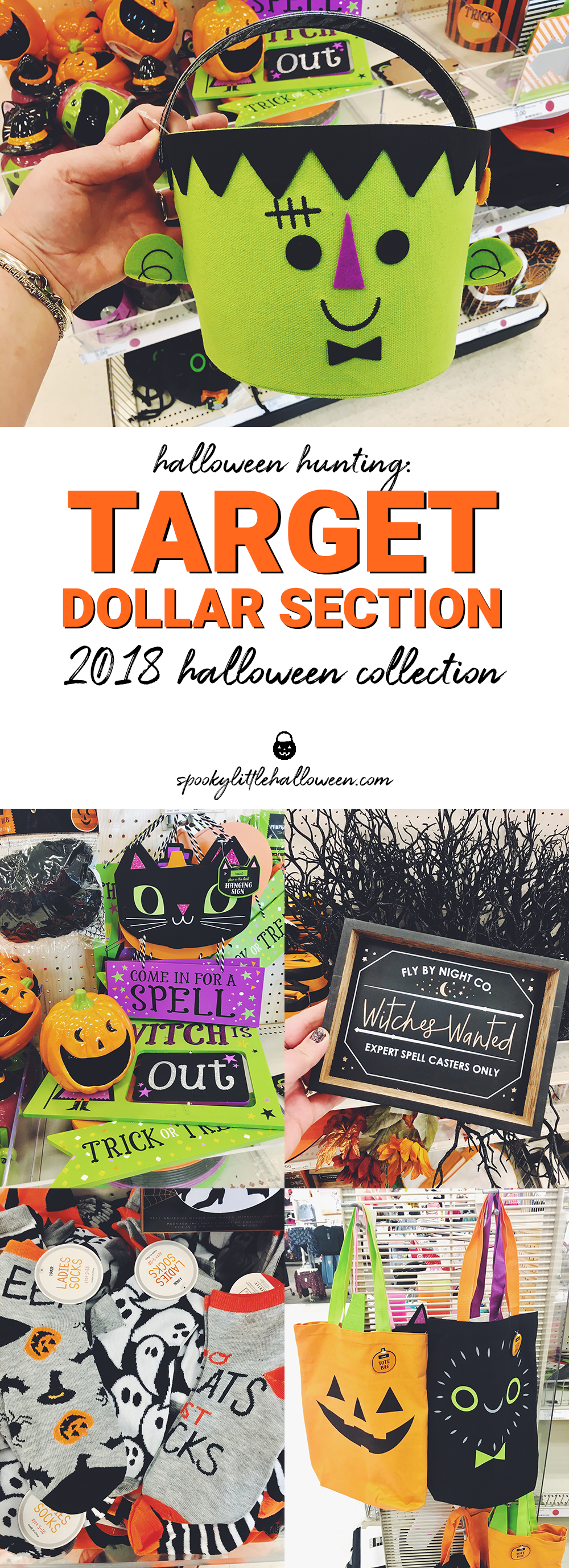 Halloween Hunting Target Dollar Section 2018 Halloween Collection Spooky Little Halloween