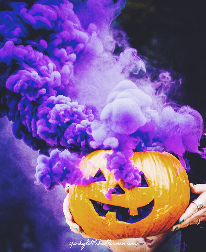 How To Make A Smoking Pumpkin Spooky Little Halloween