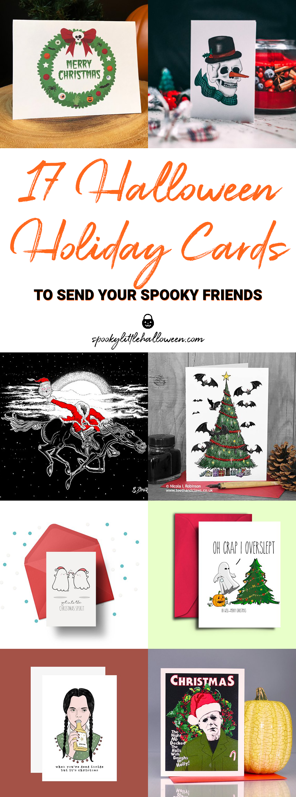 17 Halloween Holiday Cards to Send Your Spooky Friends - Spooky ...