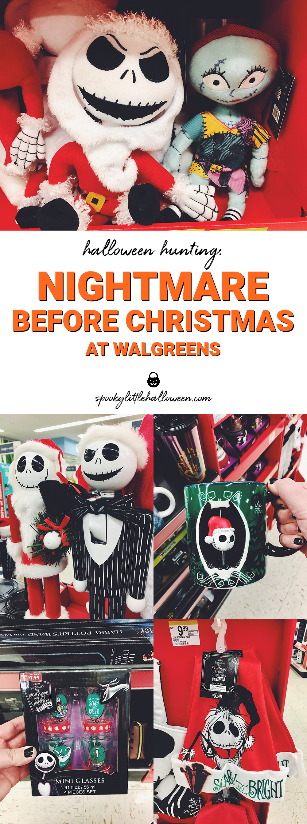 Halloween Hunting: Nightmare Before Christmas at Walgreens - Spooky ...