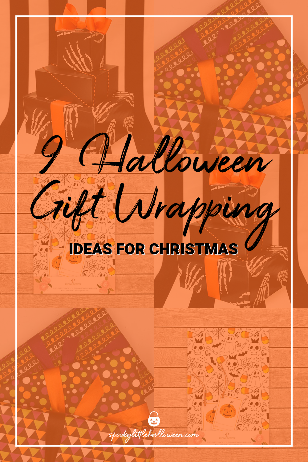 9 Halloween Gift Wrapping Ideas for Christmas - Spooky Little Halloween