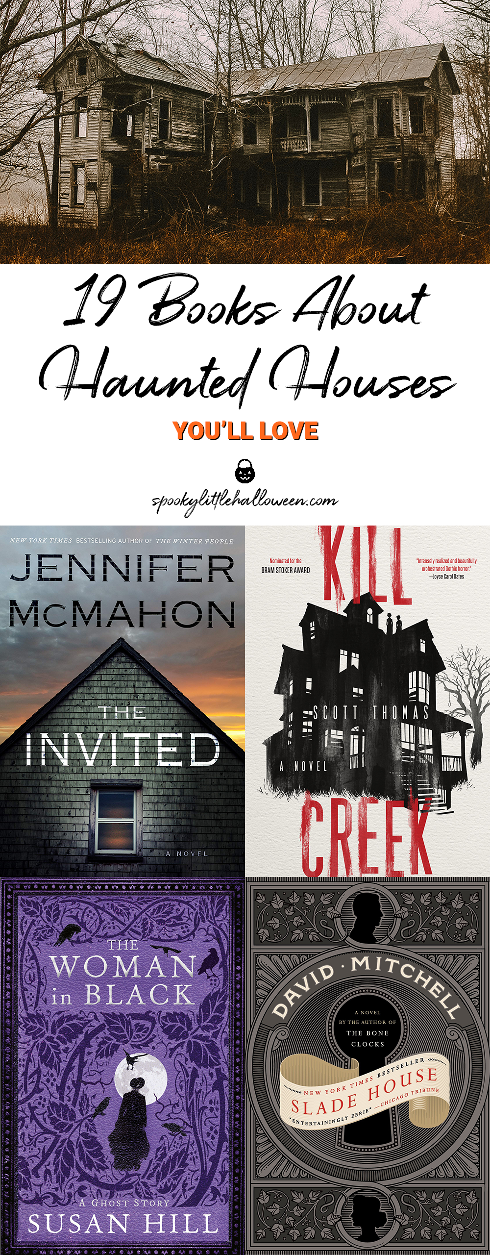 19 Books About Haunted Houses You'll Love - Spooky Little