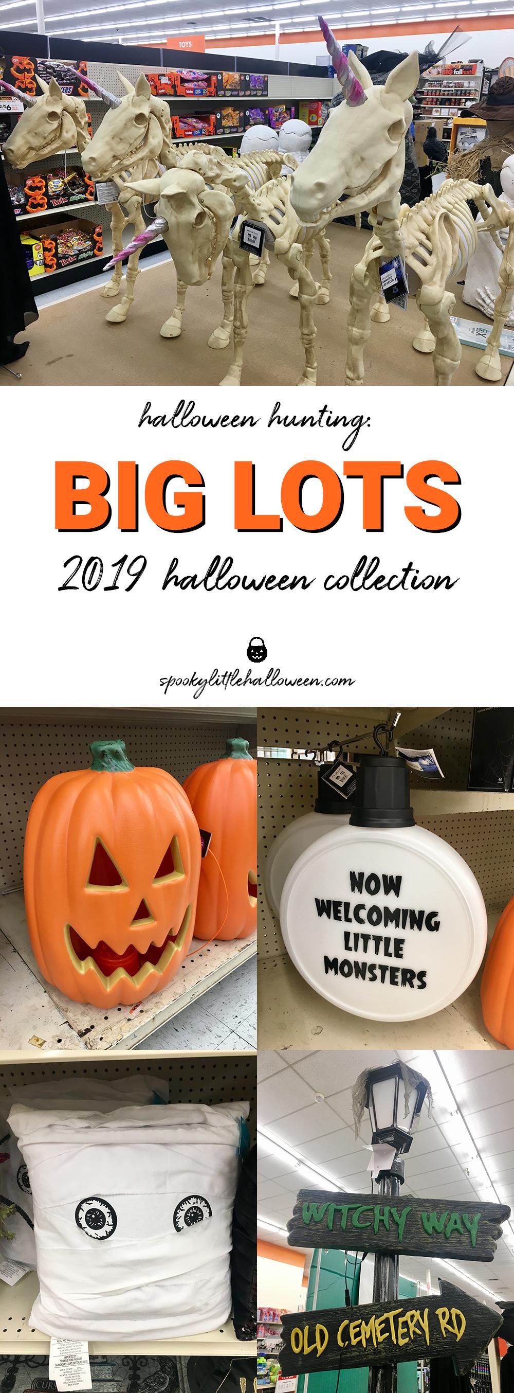 Big Lots Halloween Decorations 2019.Halloween Hunting Big Lots 2019 Halloween Collection