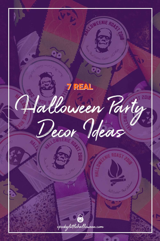 7 Real Halloween Party Decor Ideas Spooky Little Halloween