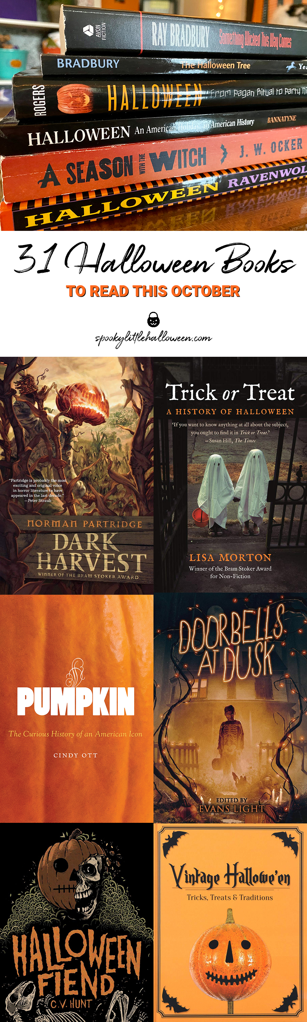 Anythingat Thr End Of Halloween 2020 31 Halloween Books to Read This October   Spooky Little Halloween